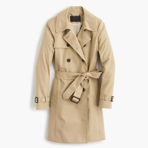 J crew icon trench coat jacket